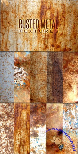 WeGraphics - Rusted Metal Texture Pack