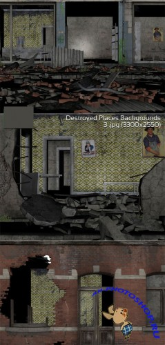 Destroyed Places Backgrounds