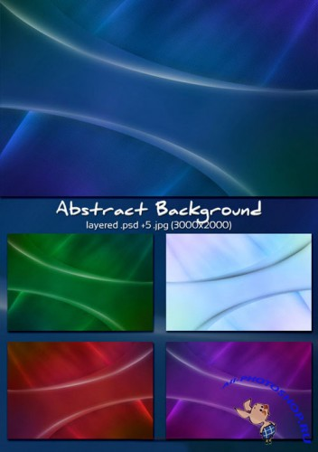 Clean Abstract PSD Backgrounds