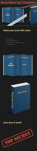 Designtnt - Photo-realistic Book PS Mock-ups