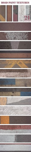 Designtnt - Road Paint Textures Set 1