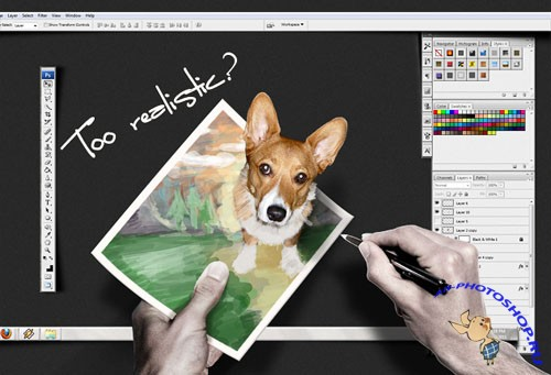 Designtnt - Creativity Desktop Create Cool Wallpaper Photoshop Interface
