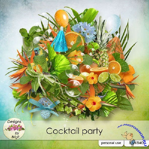 Скрап-комплект - Cocktail party