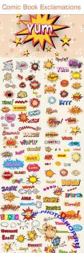 Designtnt - Comic Book Exclamations Collection