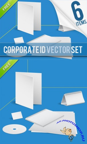 Designtnt - Vector Set Corporate Identity Templates