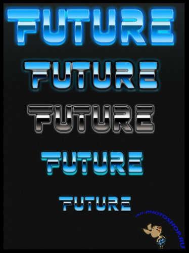 Futurastic PS Style Effect