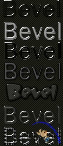 Beveled Layer PS Style Effects