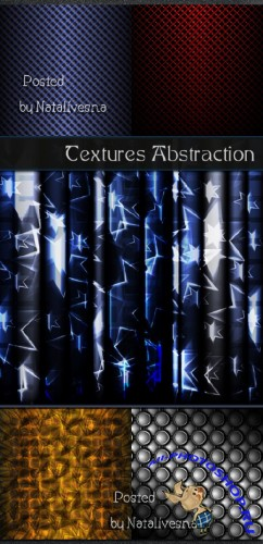 �������� - ���������� / Textures abstraction - Stock photo