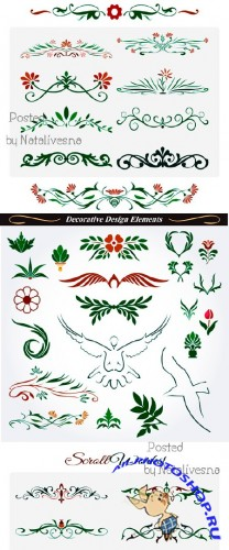 Декоративные элементы в Векторе / Decorative elements in Vector