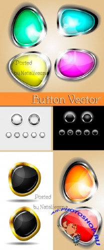 ����������� ������ � ������� / Vector - Abstract buttons