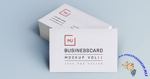 Pixeden - Psd Business Card Mock-Up Vol11
