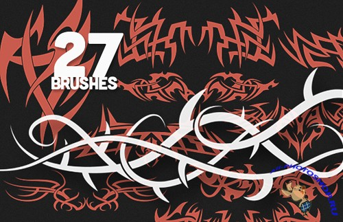 Tribal PS Brushes Set 4