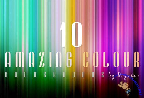 10 Amazing Colour Backgrounds