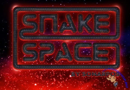 Snake Space Photoshop Style