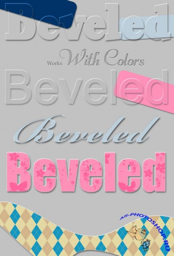 Bevel PS Layer Styles
