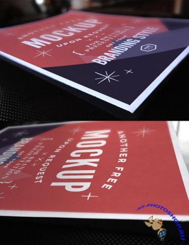 Pixeden - Psd A4 Paper Mock-Up Vol2