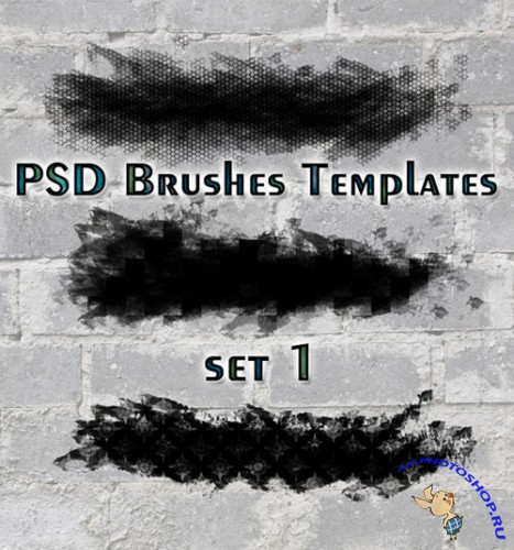 PSD Brushes Templates Set 1