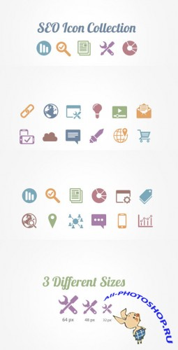 WeGraphics - SEO Vector Icons Collection
