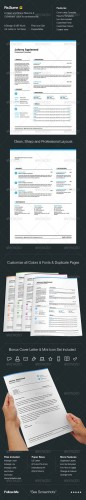 GraphicRiver - Re.Sume 3144662