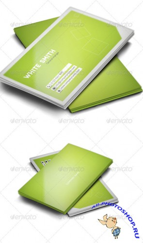 GraphicRiver - Modern Business Card 607394