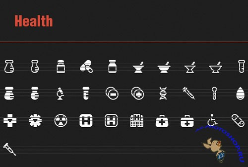 31 Vector Health Icons