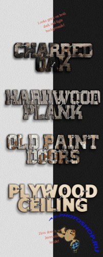 Woody Text Effects