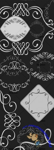Photoshop Brushes Ornamental Set 58