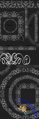Photoshop Brushes Ornamental Set 60