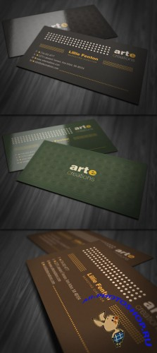 Simply Professional Business Card PSD Template
