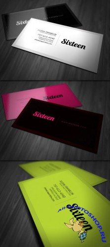Simple Stylish Business Card PSD Template