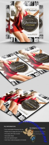 Faithless Nightspot Flyer/Poster PSD Template