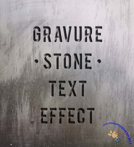 Pixeden - Psd Engraved Stone Text Effect