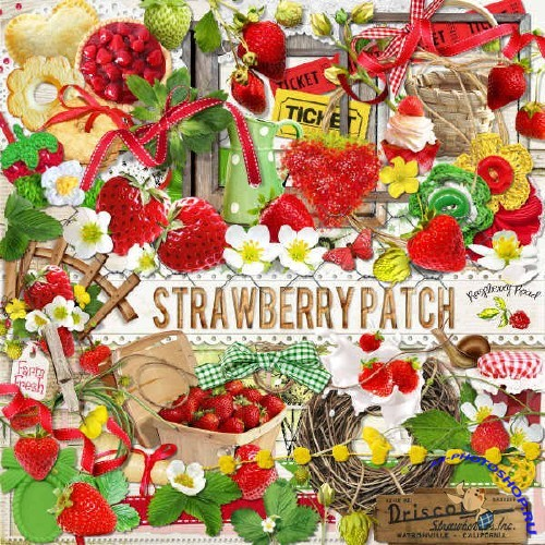 Скрап-набор - Strawberry Patch