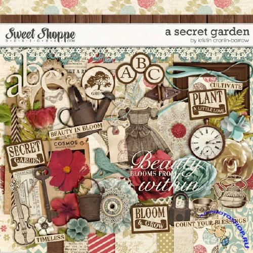 Скрап-комплект - A Secret Garden