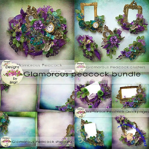 ��������� �����-����� - Glamourous Peacock