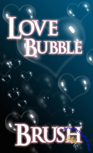 Love Bubble Photoshop Brushes