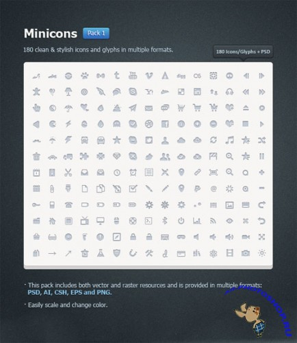 Icons - Minicons Pack 1