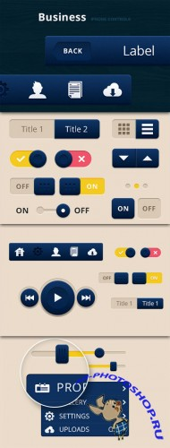 WeGraphics - Business iPhone Controls