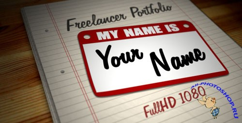 Videohive - Freelancer Portfolio - Hi, My Name is...