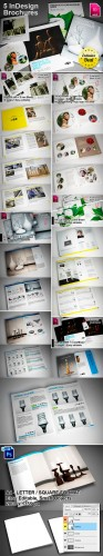 5 InDesign Brochure Templates