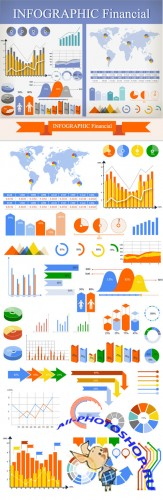 Financial Infographic & Data Visualization Set