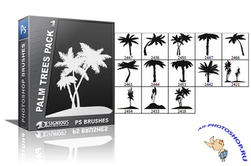 Palm Trees PS Brushes 1
