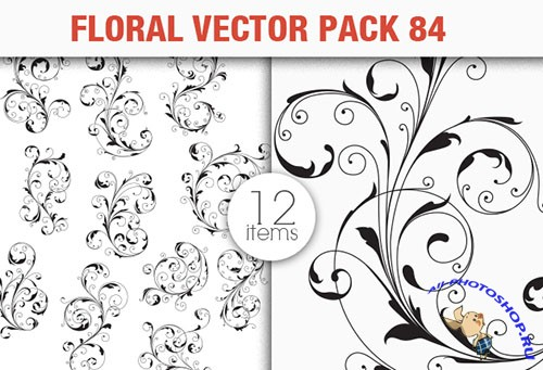 Floral Vector Pack 84