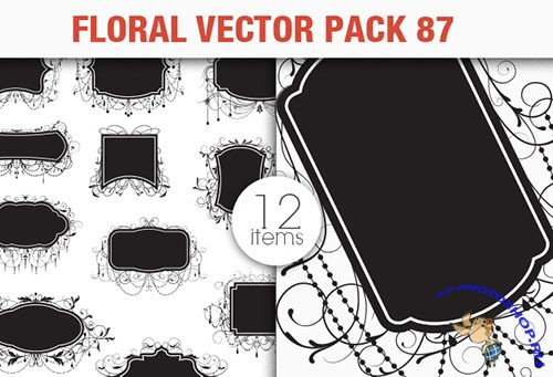 Floral Vector Pack 87