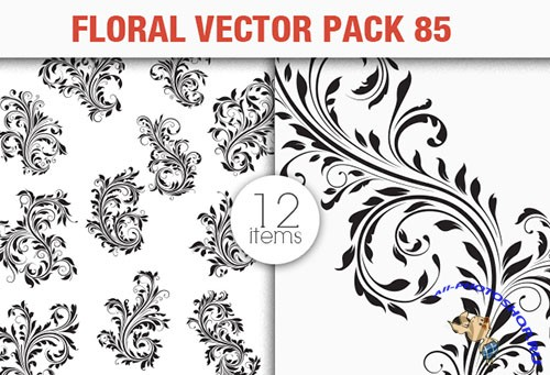 Floral Vector Pack 85