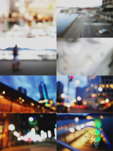 8 Bokeh Frosted Backgrounds