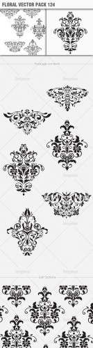 Floral Vector Pack 124