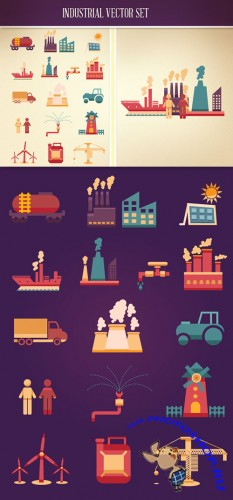 Industrial Vector Set 2