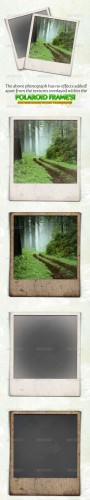 GraphicRiver - Gritty and Modern Polaroid Photo Frames 165349