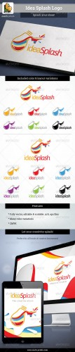 GraphicRiver - Idea Splash Logo 2844181